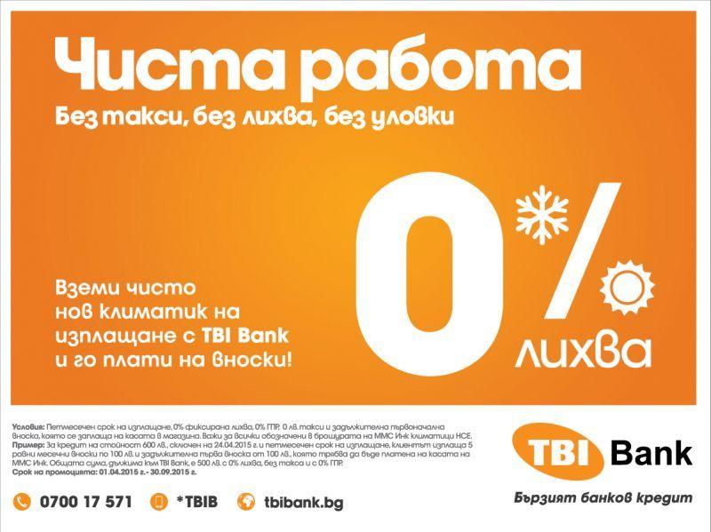 Покупка на климатик от MMC Инк. с 0% оскъпяване