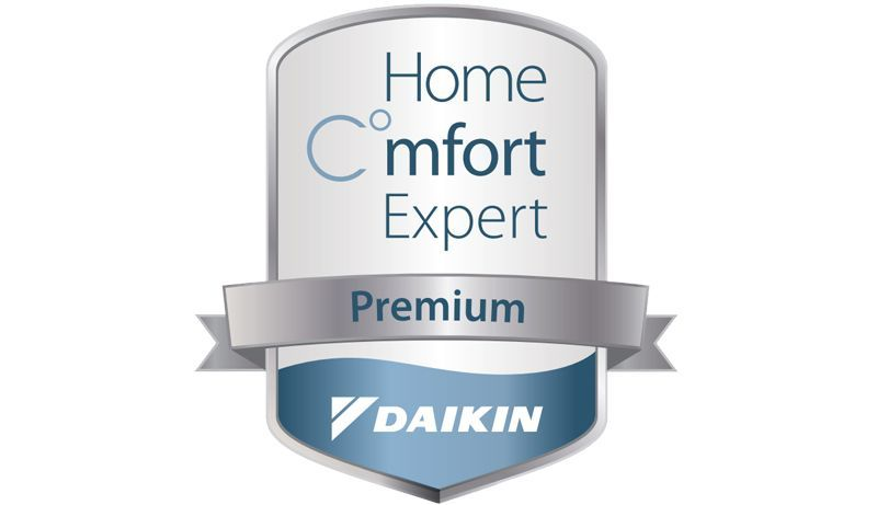 ММС е компания Home C°mfort Expert Premium - знак за най-добър опит по отношение на продуктите на Daikin